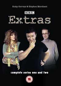Extras Series 1 and 2 DVD